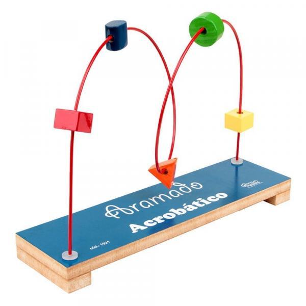 Brinquedo Educativo Aramado Acrobático - Carlu Brinquedos