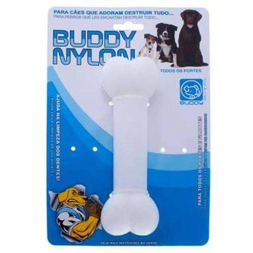Brinquedo Mordedor Osso de Nylon para Cães - Buddy Toys