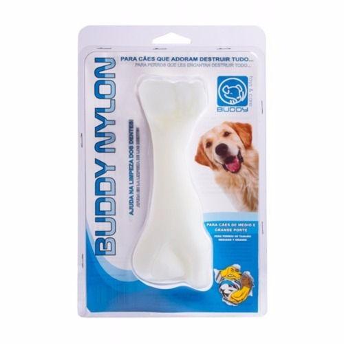 Brinquedo Mordedor Resistente Ossão Cães Nylon Buddy Toys