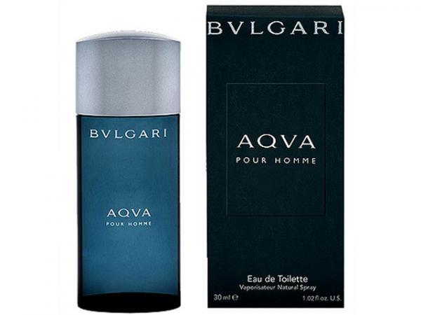 Bvlgari Aqva Pour Homme - Perfume Masculino Eau de Toilette 30 Ml