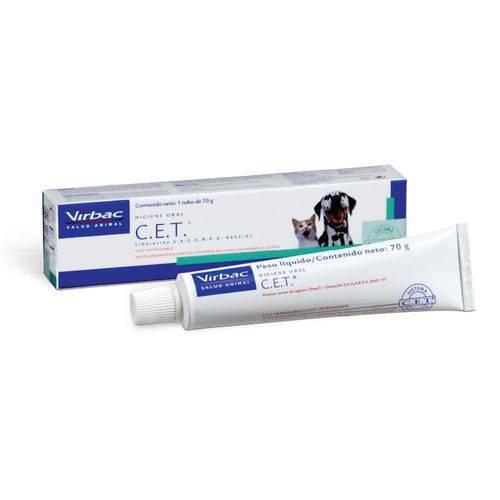 Tudo sobre 'C.e.t. Pasta Enzimática Higiene Oral 70g - Virbac'
