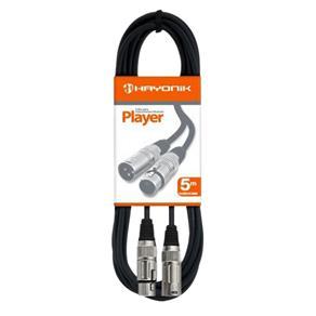 Tudo sobre 'Cabo para Microfone Player Hayonik 05MT XLR(M)/XLR(F)'