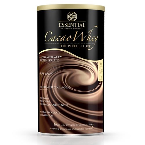 Cacao Whey - 450gr - Essential Nutrition