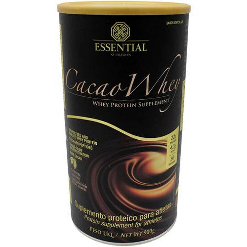Cacao Whey (900g/30doses) - Essential Nutrition
