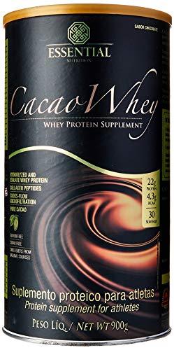 Cacao Whey 900G Essential Nutrition Lata 900G