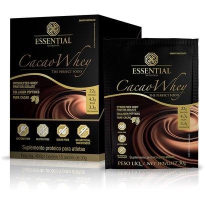 Cacao Whey C/ 15 Sachês - Essential Nutrition