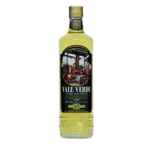 Cachaça Vale Verde Extra Premium 700ml