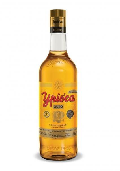 Cachaça Ypióca Conta Gota Ouro - 965ml