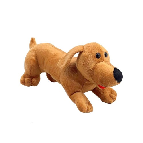 Tudo sobre 'Cachorro Pelúcia Basset 32 Cm Linguiça'