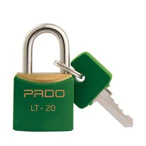 Cadeado com Chaves Colors - LT 20mm - Pado