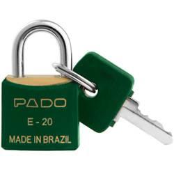 Cadeado Cores SM E-20mm Verde - Pado