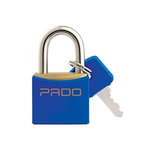 Cadeado de Latão 20 Mm - Pado (Azul)