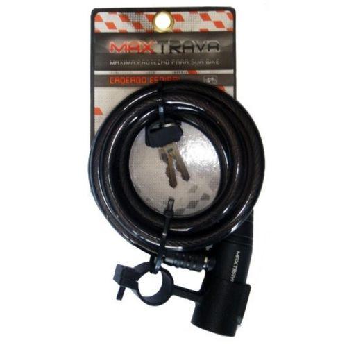 Cadeado Espiral 1,5mt 12mm com Chave