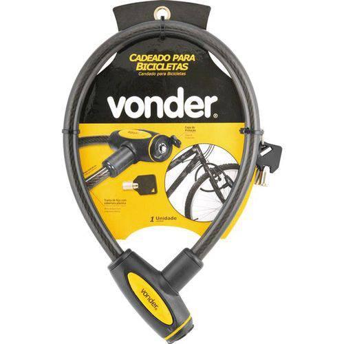 Cadeado para Bicicleta 60cm com Chave - Vonder