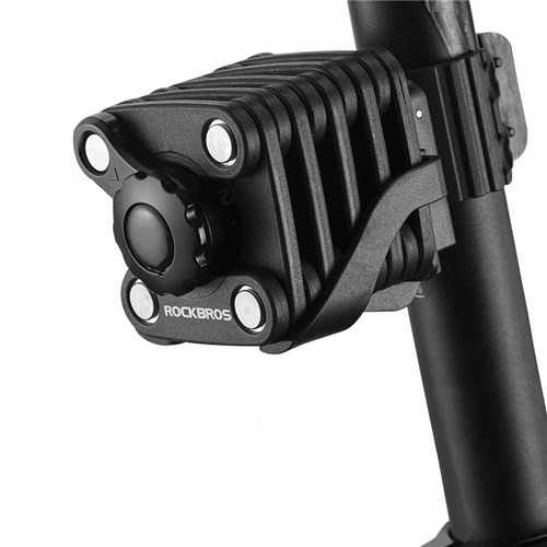 Cadeado para Bicicleta CompactPlus / Preto com Chave