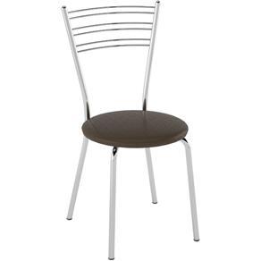 Cadeira 43319 Polegada Pozza - MARROM
