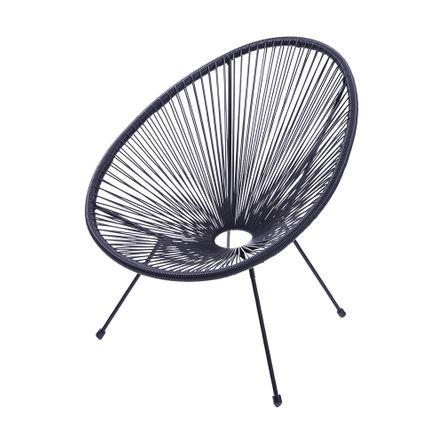 Tudo sobre 'Cadeira Acapulco Preta'