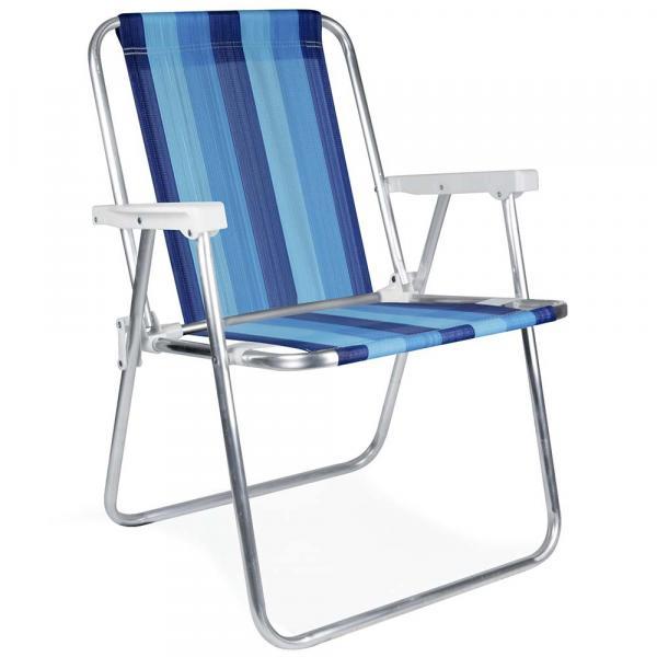 Cadeira Alta Alumínio - 2221 - Mor