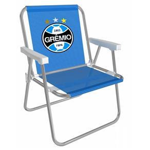 Cadeira Alta Alumínio Grêmio Mor