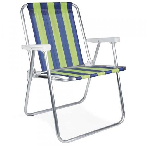 Cadeira Alta Alumínio Mor 002101