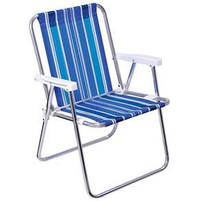 Cadeira Alta Aluminio MOR - Color