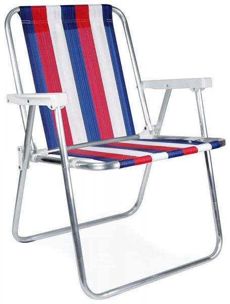 Cadeira Alta AlumInio Mor Cores