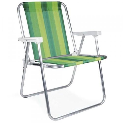 Cadeira Alta Alumínio - 2222 - Mor