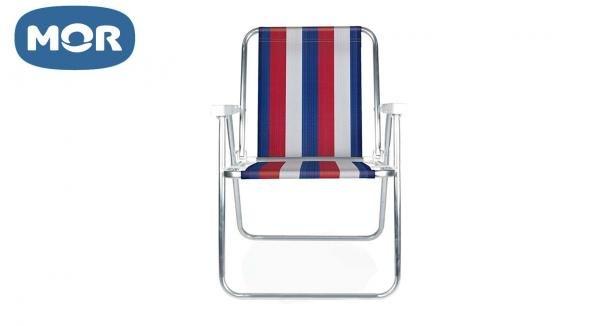Cadeira Alta Alumínio - Mor