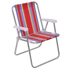 Cadeira Alta Aluminio - Mor