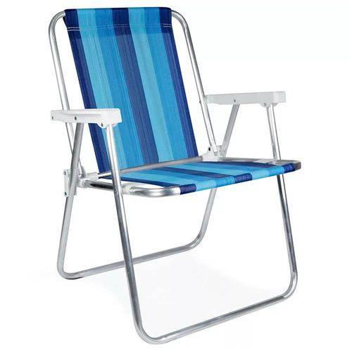 Cadeira Alta Alumínio Sortida - 21012245 - MOR