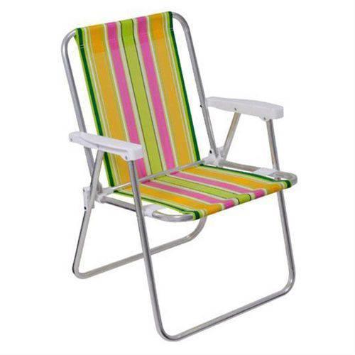 Cadeira Alta Alumínio Sortida - 7896020621010 - Mor