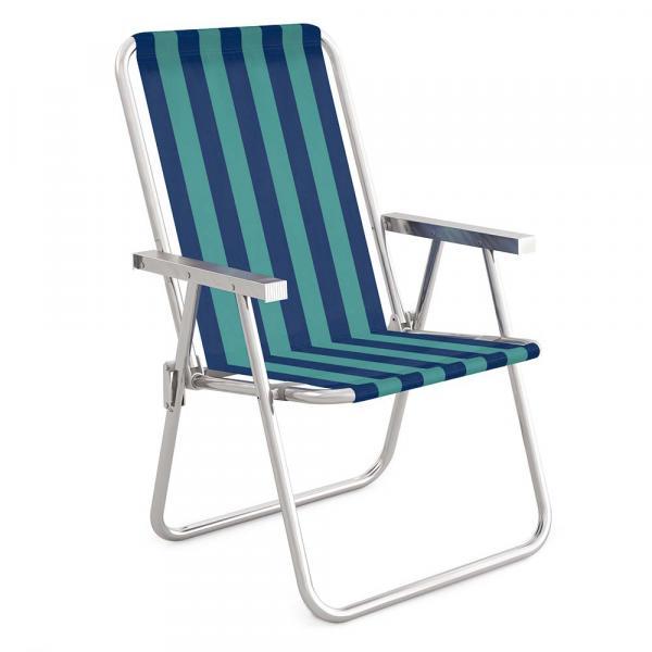 Cadeira Alta Conforto Alumínio - 2235 - Mor