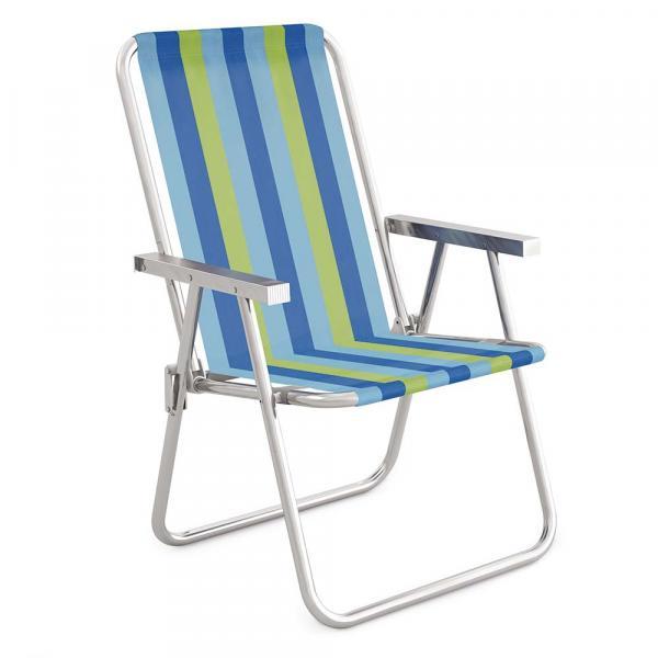 Cadeira Alta Conforto Alumínio - 2237 - Mor