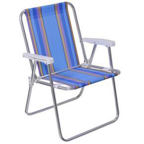 Cadeira Alta de Alumínio 2101 - Mor
