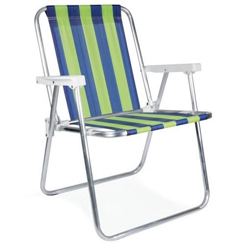 Cadeira Alta de Alumínio Mor, Cor Sortida - 2101