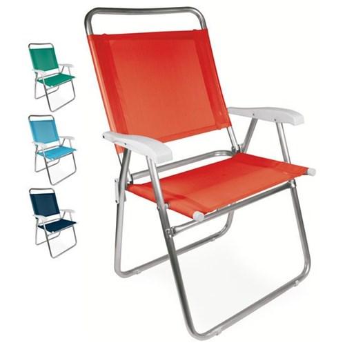 Cadeira Alta de Alumínio Mor Master Plus Fashion, Cor Sortida - 2119