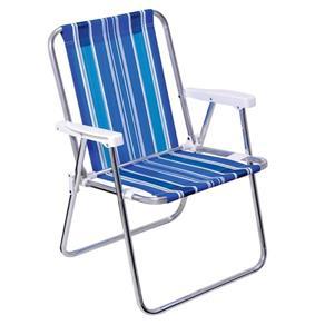 Cadeira Alta para Praia e Piscina em Aluminio Mor 2101 - Cores Diversas