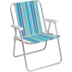 Cadeira Alumínio Alta 2101 (Cores Div.) Mor