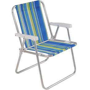 Cadeira Aluminio Alta Mor