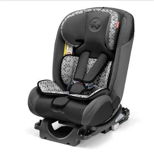 Tudo sobre 'Cadeira Auto Isofix Fisher Price All Stages Fix 0-36 Kg Cinza'