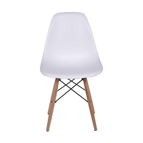 Tudo sobre 'Cadeira Charles Eames Eiffel Base Madeira - Branco'