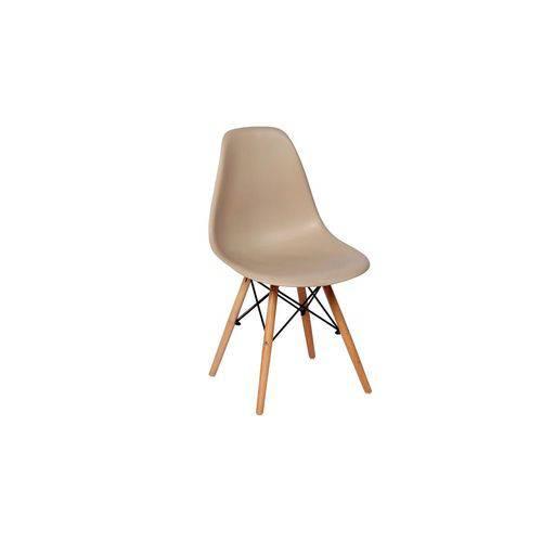 Tudo sobre 'Cadeira Charles Eames Eiffel Dkr Wood - Design - Nude'