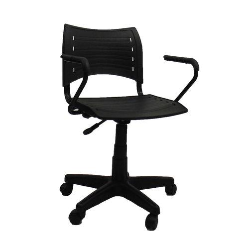Cadeira com Braço Preto EVIDENCE-Preta