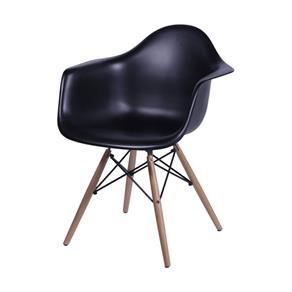 Cadeira com Braços Eames 1120 OR Design Preto - Preto