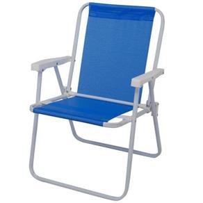 Cadeira de Aço Alta Sannet Azul-mor-002283