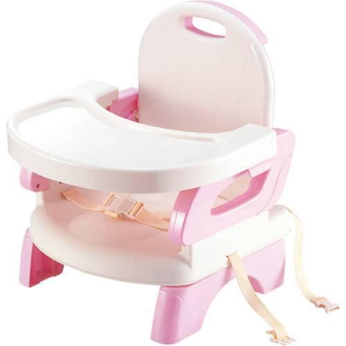 Tudo sobre 'Cadeira de Alimentação Flexível Rosa - Mastela'