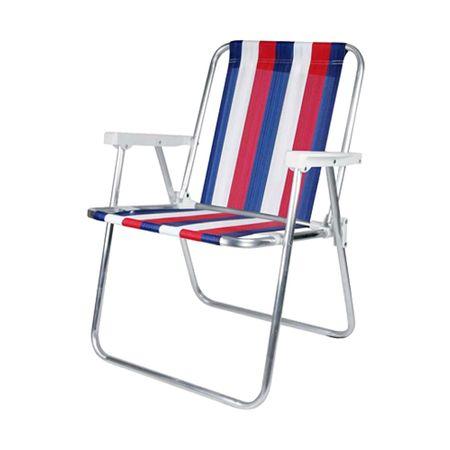 Cadeira de Alumínio Praia Mor Praia Mor
