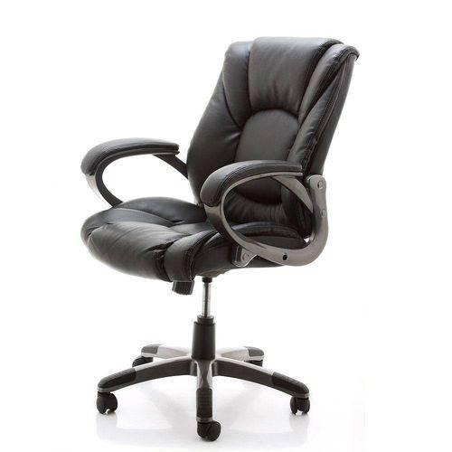 Tudo sobre 'Cadeira de Escritório Office Lux Staples® Preto Preto Preto Preto'
