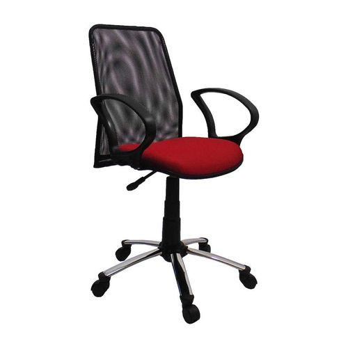 Tudo sobre 'Cadeira de Escritório Secretária Milão Vermelho'