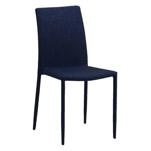 Tudo sobre 'Cadeira de Jantar Jeans Azul'